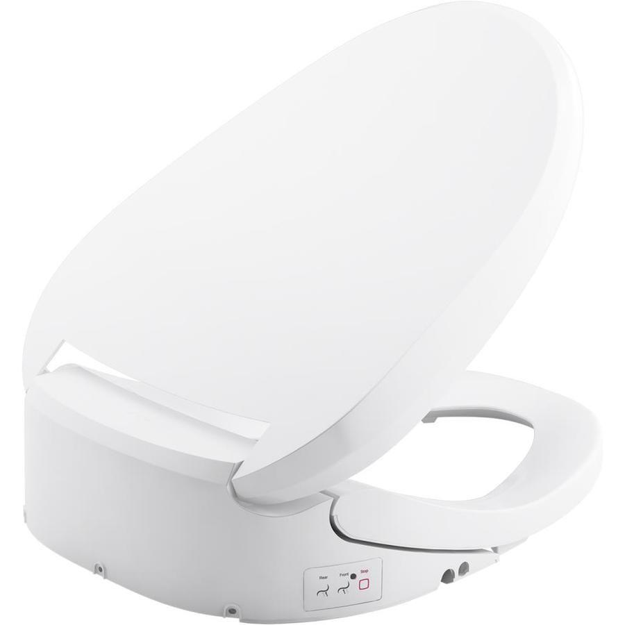 Kohler C3 Plastic Elongated Slow Close Heated Toilet Seat K 8298