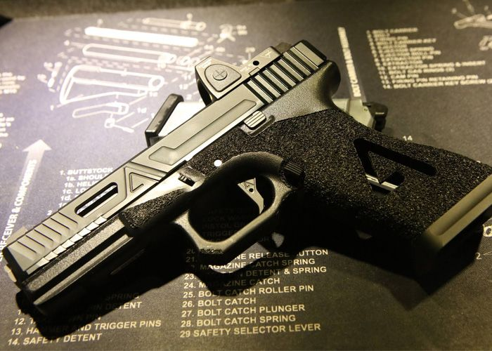 Custom Agency Arms G w/ APS-X System | Cool Airsoft Guns