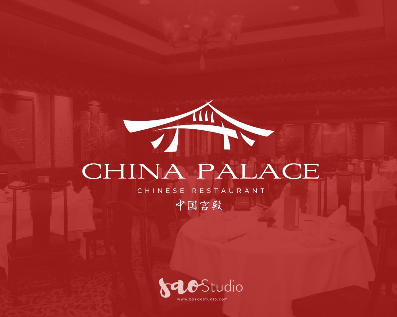 logo design purpose for china palace #logodesign, #luxury