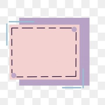 Simple Border Color Candy Frame Line Cute Rectangle Clipart Simple Border Hand Painted Border Png Transparent Clipart Image And Psd File For Free Download Simple Borders Powerpoint Background Design Frame Template