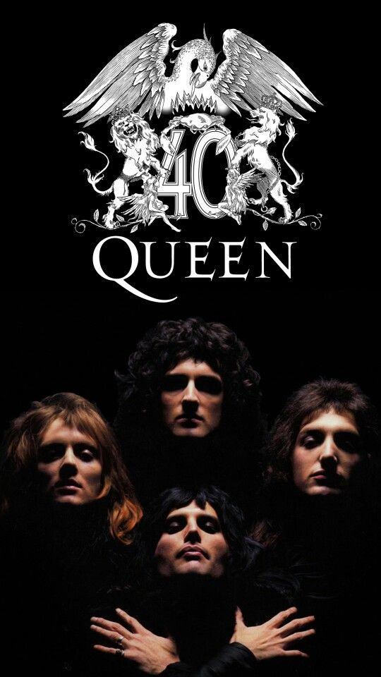 queen 40 anniversary of bohemian rhapsody full hd mobile wallpaper freddie mercury manga sanati