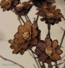 Znalezione Obrazy Dla Zapytania Ozdoby Z Szyszek Xmas Crafts Flowers Dried Flowers