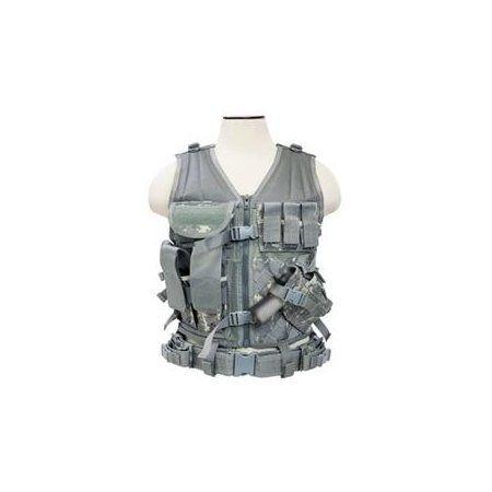 VISM by NcStar Tactical Vest/Digital Camo Acu ,adjustable small/medium (CTV2916D) - Rakuten.com