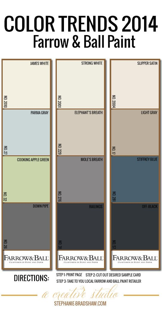 color trends 2014 farrow ball paint dimensional. Black Bedroom Furniture Sets. Home Design Ideas