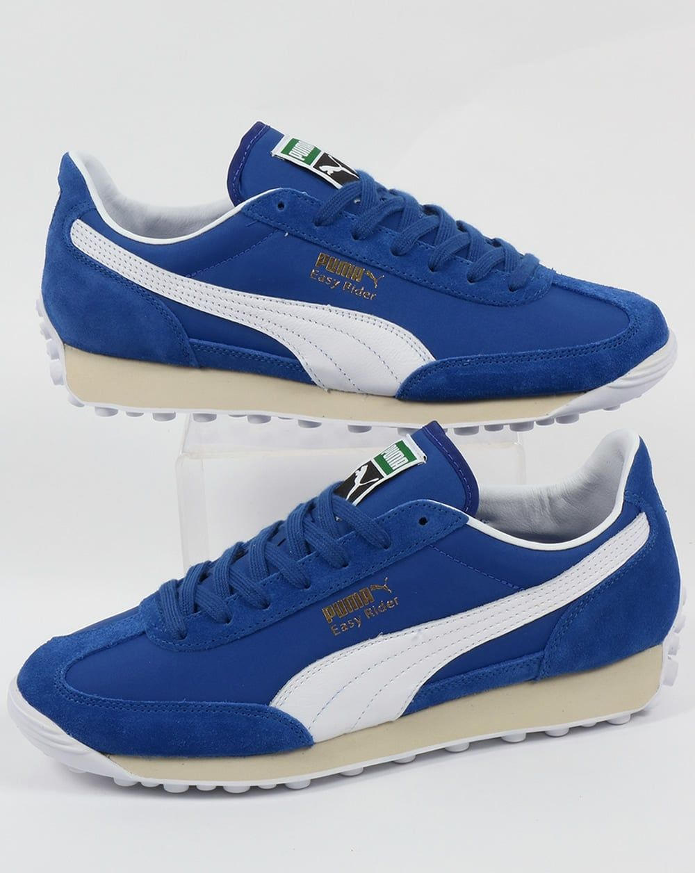 Puma Easy Rider VTG Trainers Royal Blue/White | Easy rider ...