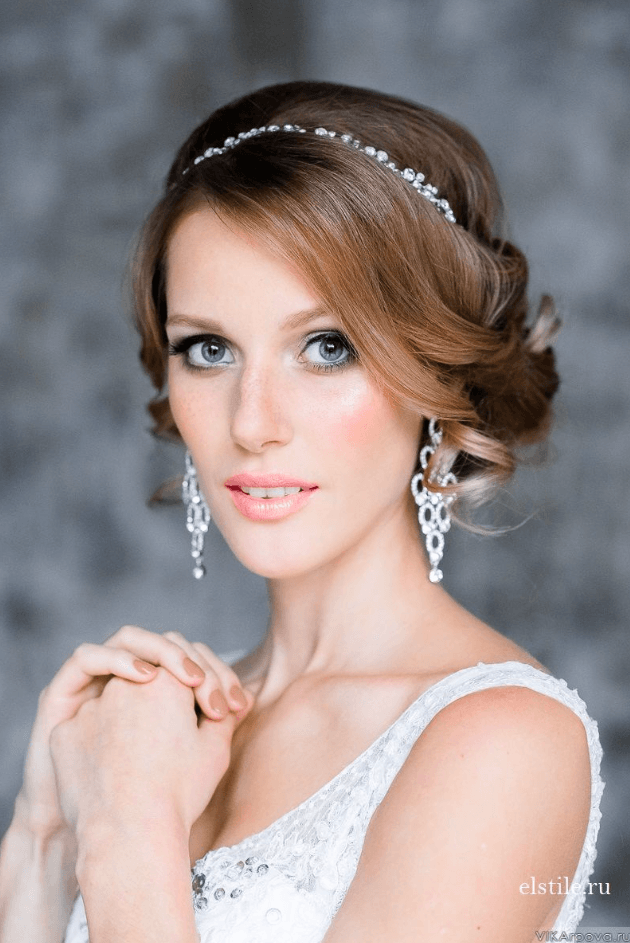 21 Peinados Para Novias Muy Elegantes Wedding Pinterest - Peinados-de-novia-elegantes