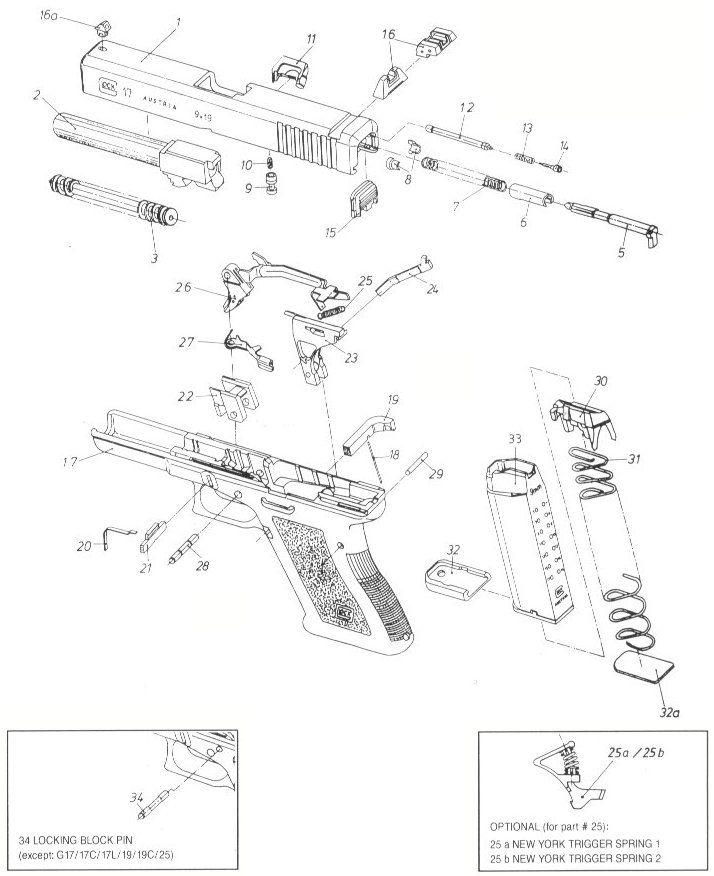 Glock 23 Dimensions