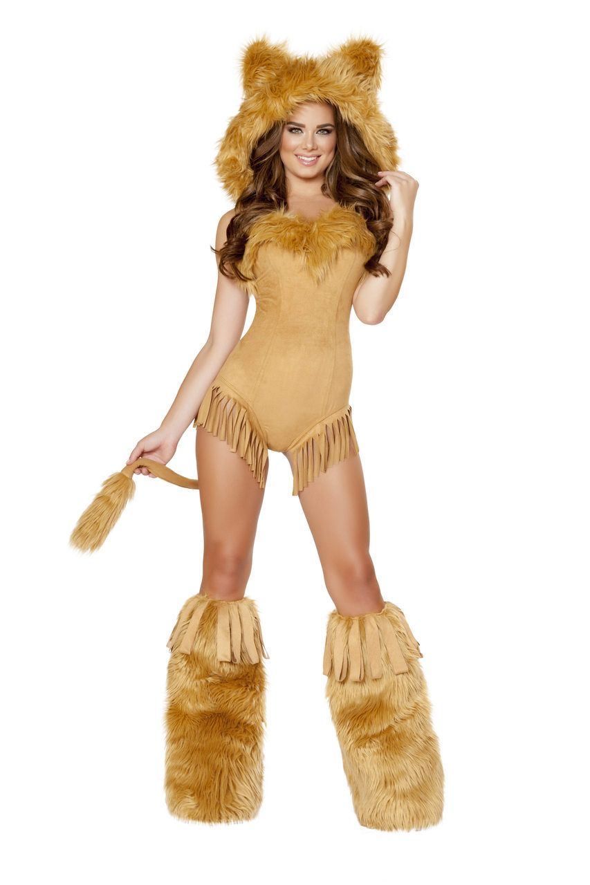 Sexy Roma Honey Gold Vicious Lioness Cowardly Lion Wizard of Oz ...