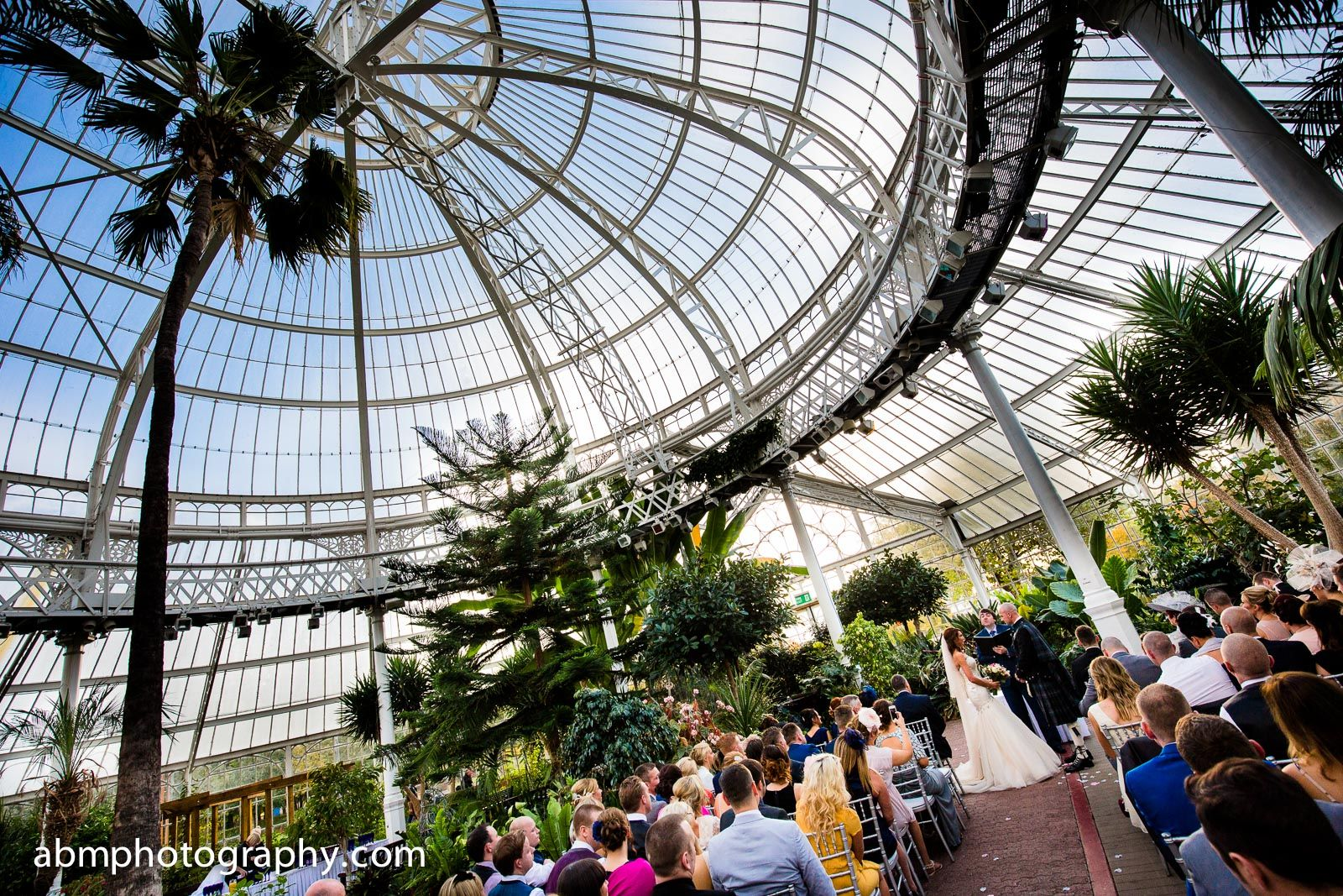 peoples palace and winter gardens at glasgow green tropical