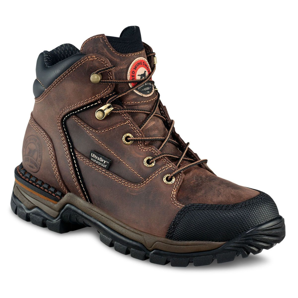 cba036b9895 Timberland Pro Workstead Black Leather Water Resistant S3 Hiker ...