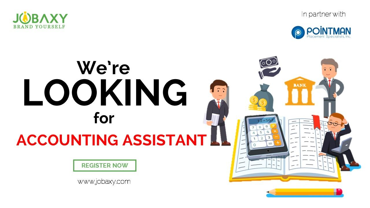 ATTENTION TO ALL JOBSEEKERS! We're Looking for ACCOUNTING