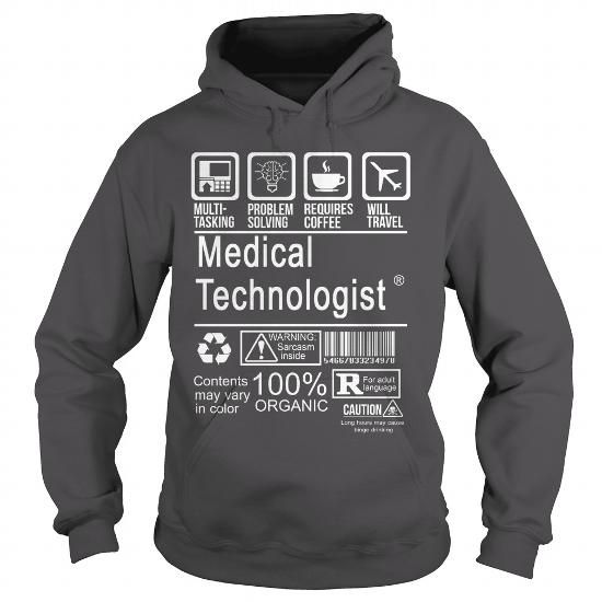Medical Technologist Certified Job Title T Shirts Hoodie  Design