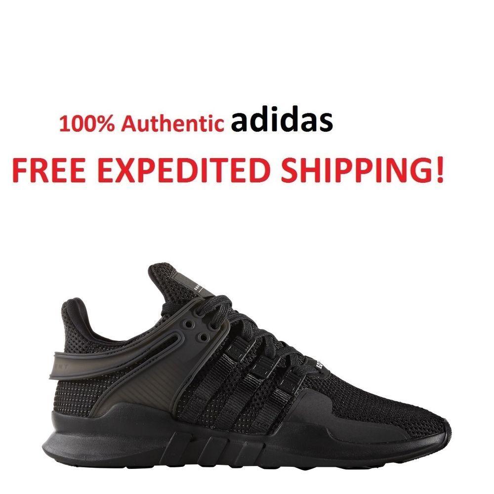4eefd8b3c9de ... adidas Originals Mens Equipment (EQT) Support Adv Sneaker All Black ...