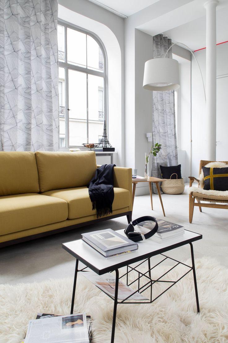 toiles de mayenne interior home decor furniture en loft. Black Bedroom Furniture Sets. Home Design Ideas