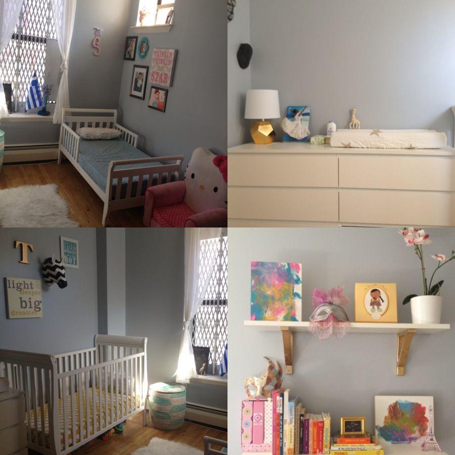 Coed Nursery Shared Kids Room Small Nyc Kids Room Children