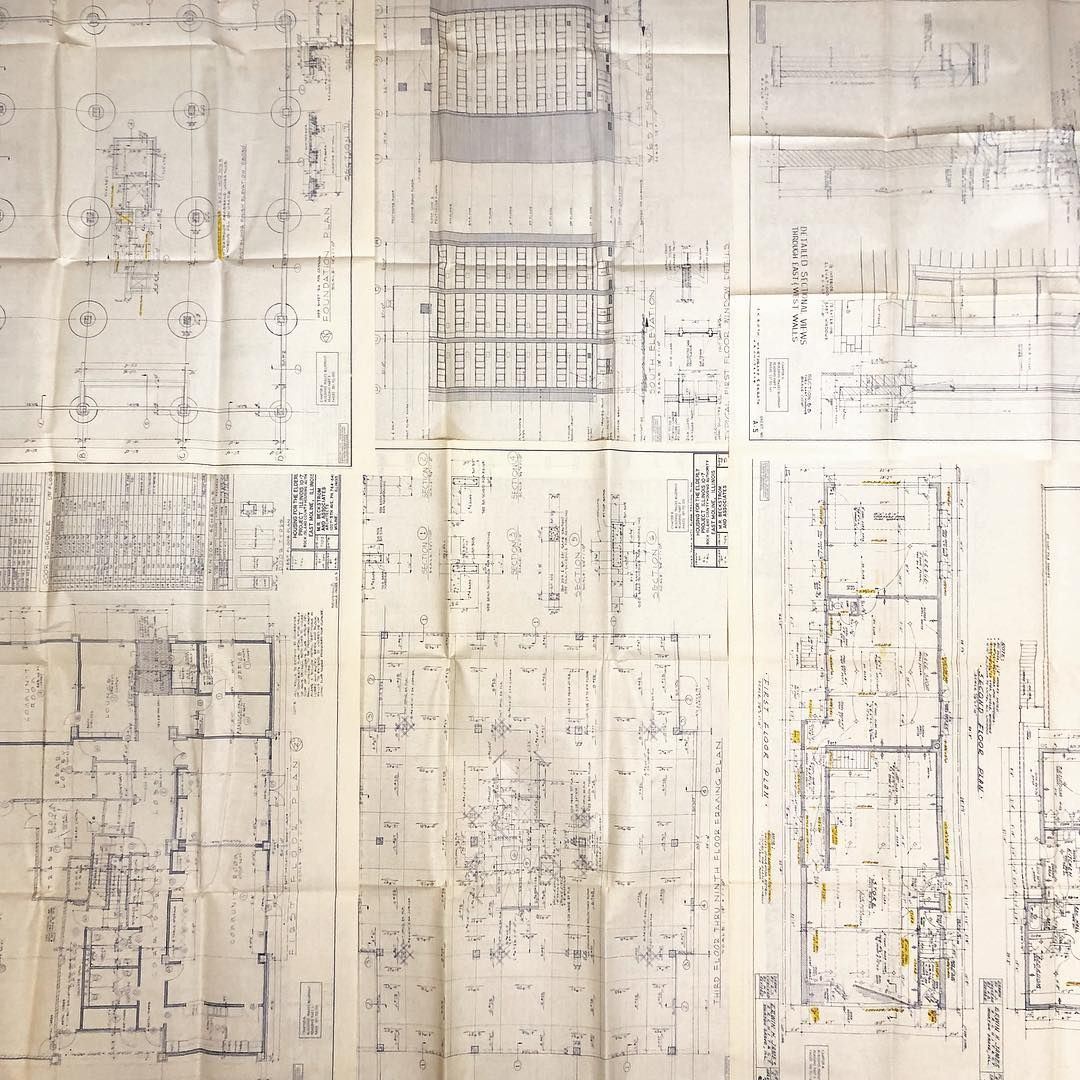 Came across these blueprints from the 80s in a garage sale really came across these blueprints from the 80s in a garage sale really amazing how architects used to be able to draw complicated designs without computers malvernweather Images