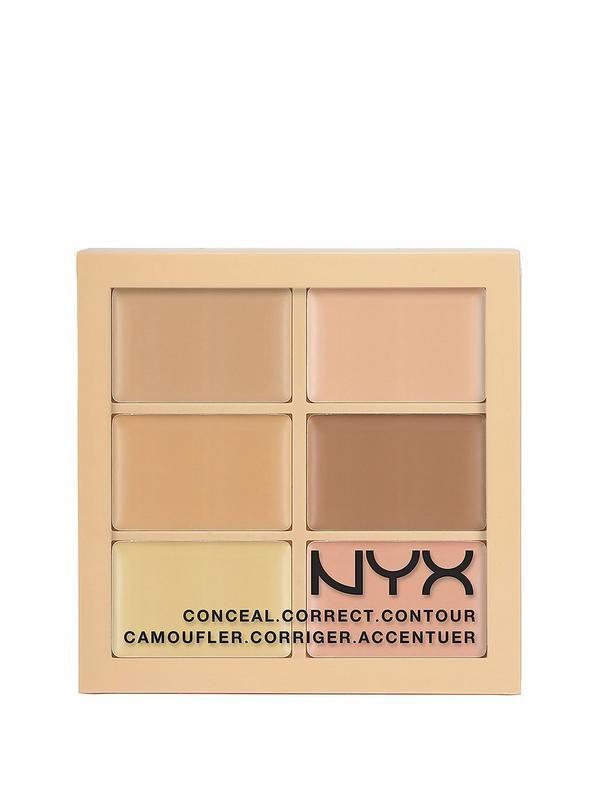 NYX 3-Piece Palette - Conceal, Correct, Contour   littlewoodsireland.ie