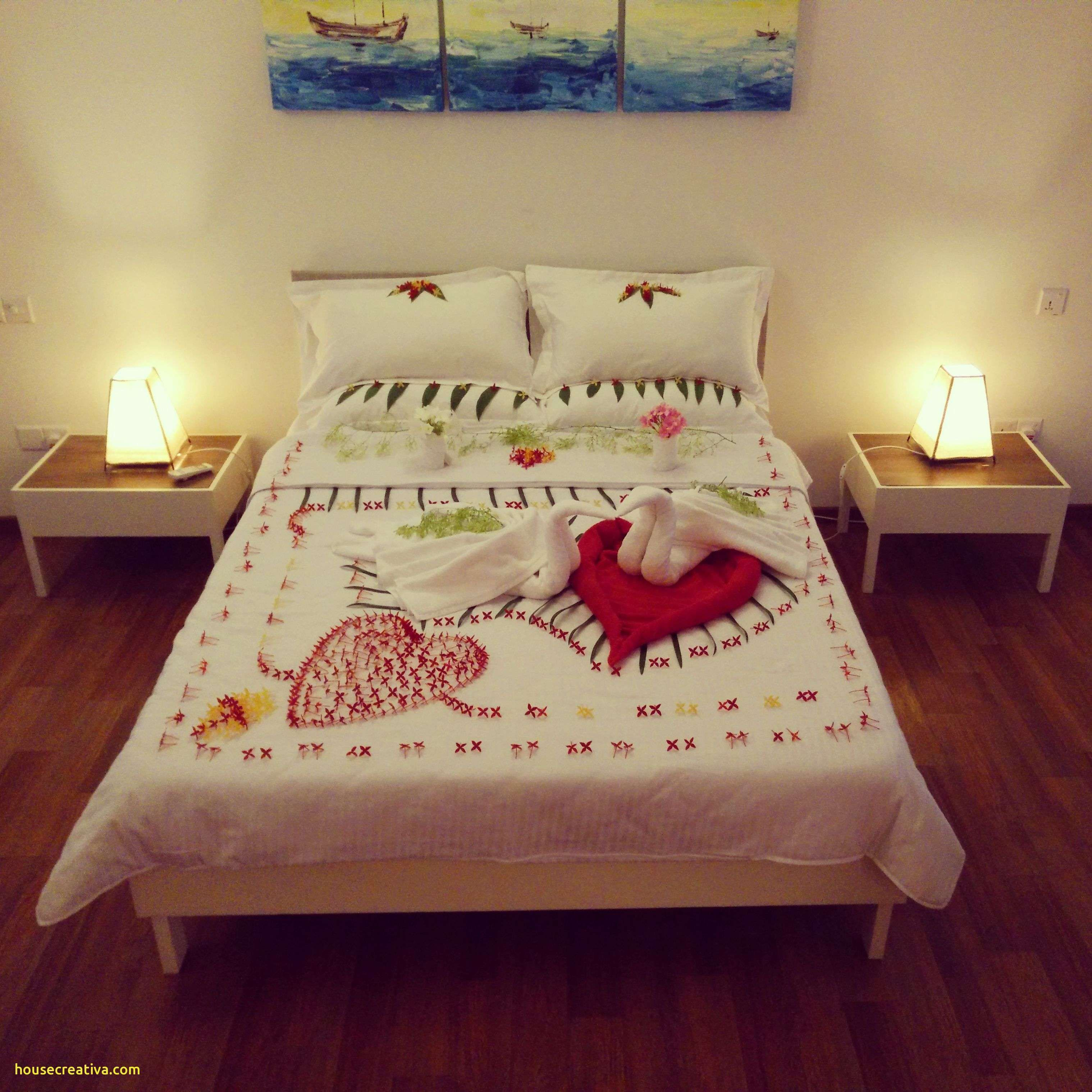 Unique Decorate Bedroom First Wedding Night