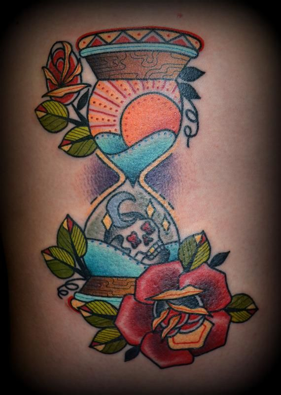 Pin By Federico Guillermo Dana On Tattoo Ideas Hourglass Tattoo Tattoos Bohemian Tattoo