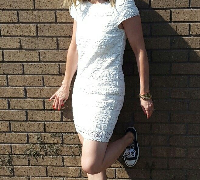 Lace dress from FCUK