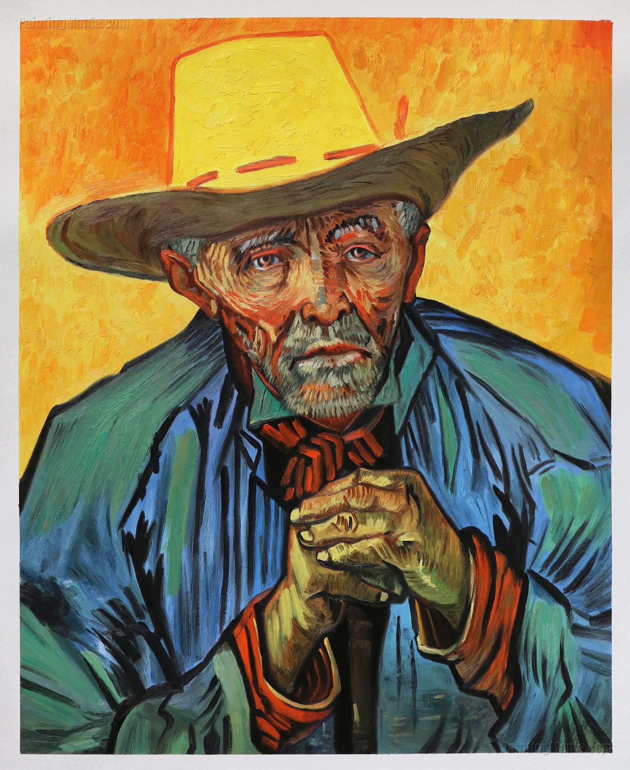 The Peasant Portrait Of Patience Escalier Vincent Van Gogh Etsy
