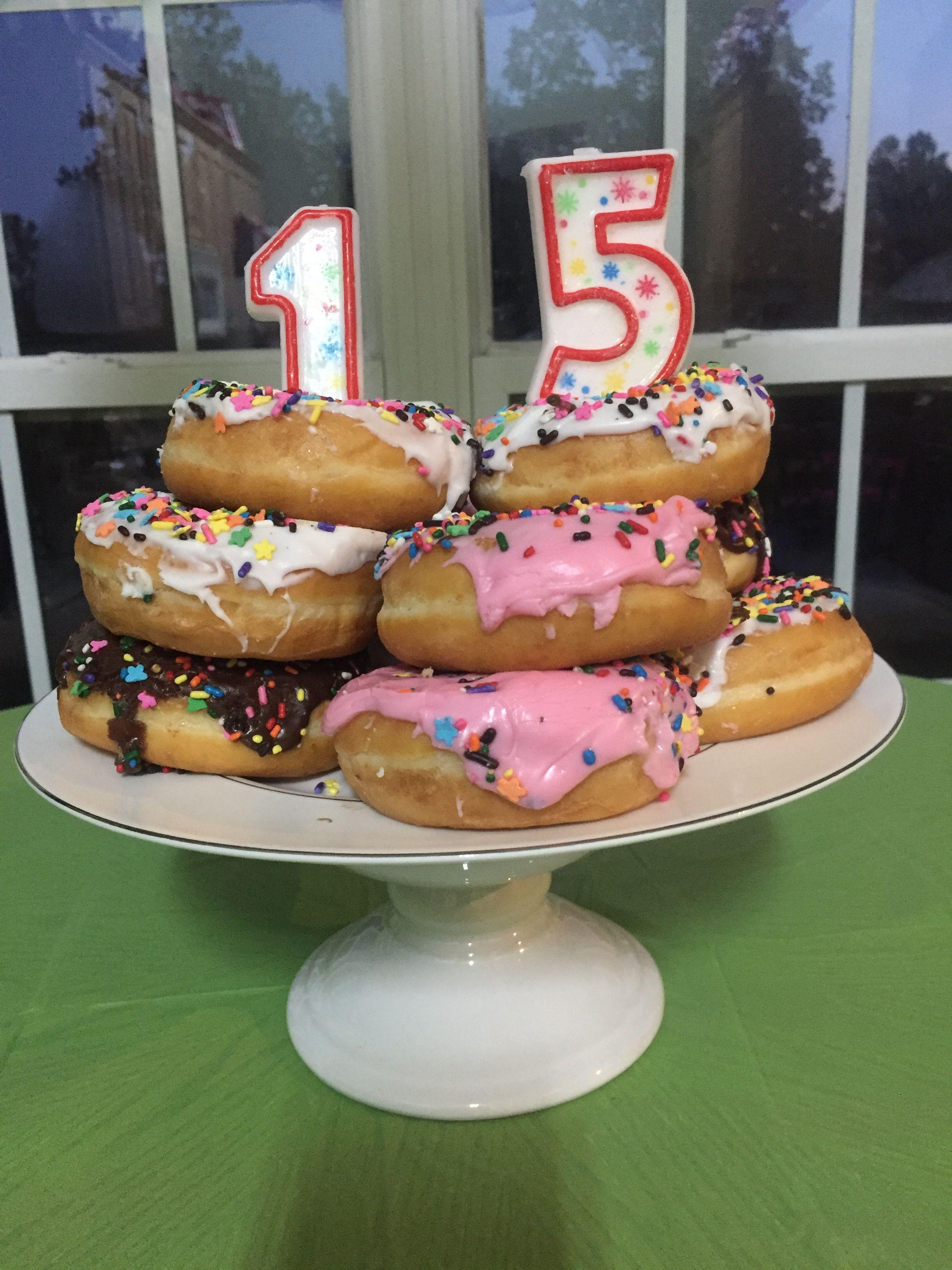 15th birthday cake for girl