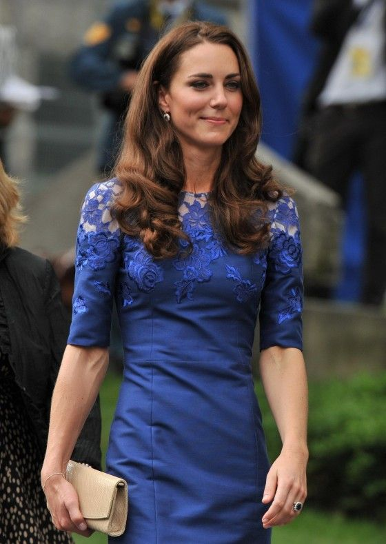 I love the lace on Kate Middleton's dress! Prom is the one night you get to feel like a Princess...or Dutchess! #TopshopPromQueen
