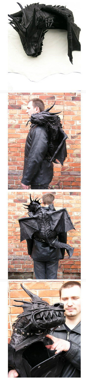 Freakin cool!! Creative bag design 6-21
