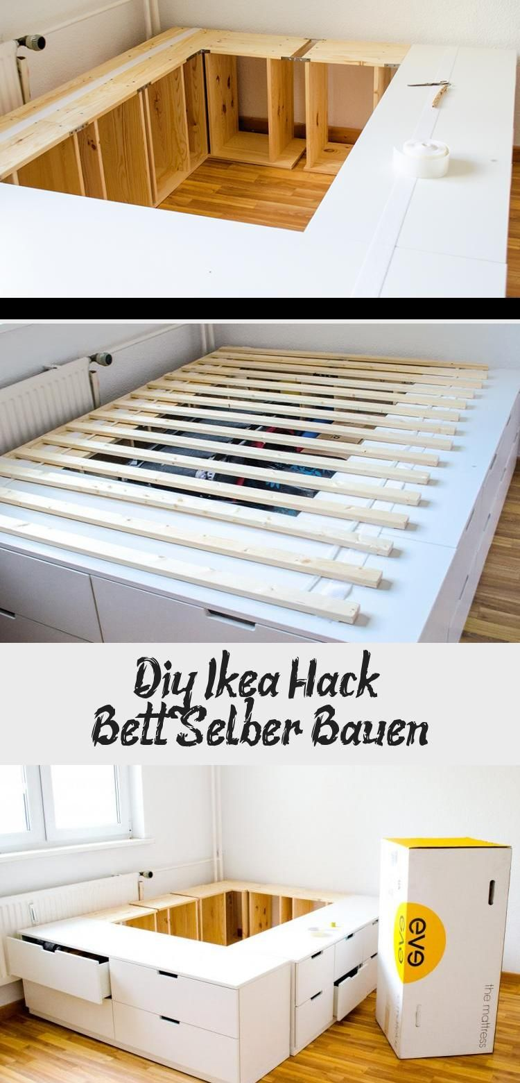 Diy Ikea Hack 8211 Bett Selber Bauen Home Mattress Diy