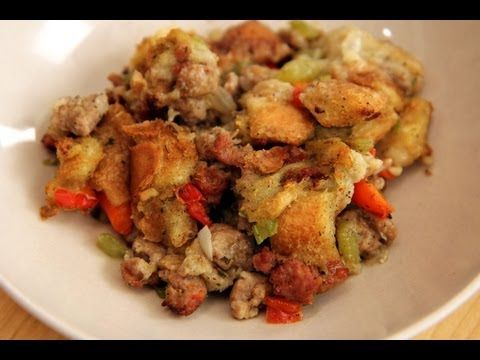 Homemade Sausage Stuffing Recipe Laura Vitale Laura In The