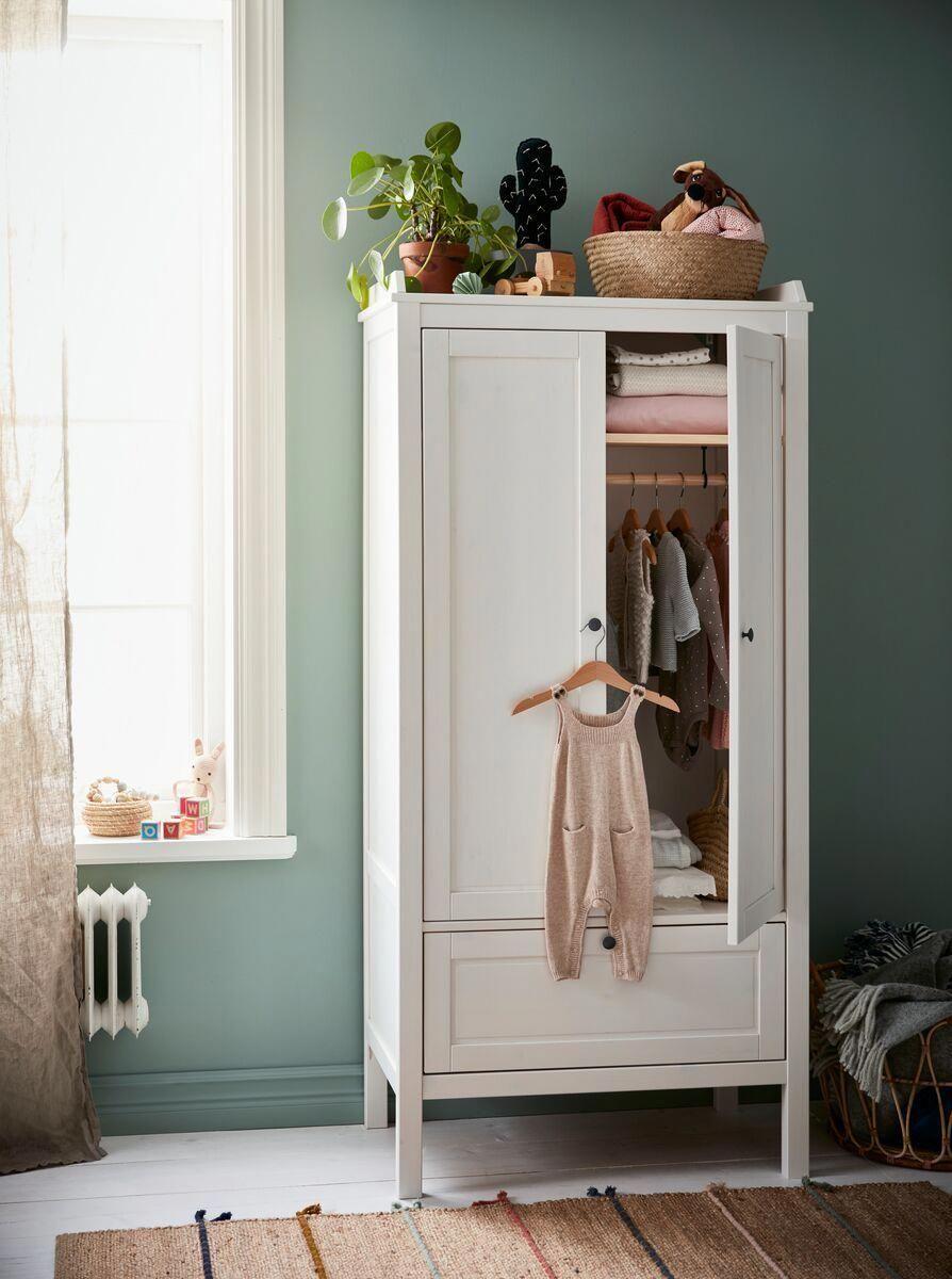 Design Your Room Online Ikea: SUNDVIK Wardrobe - White - IKEA Switzerland In 2020