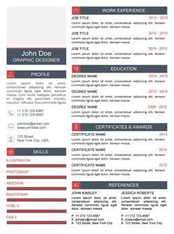 Creative Resume Template For Word  Microsoft Word Creative Resume