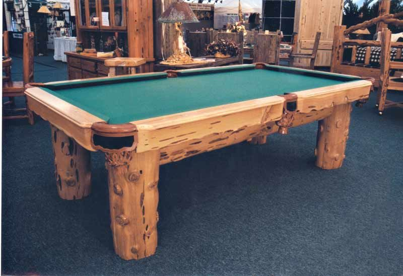 Rustic Lodge Pool Table Custom Designs Inspired By The Old West - Western pool table