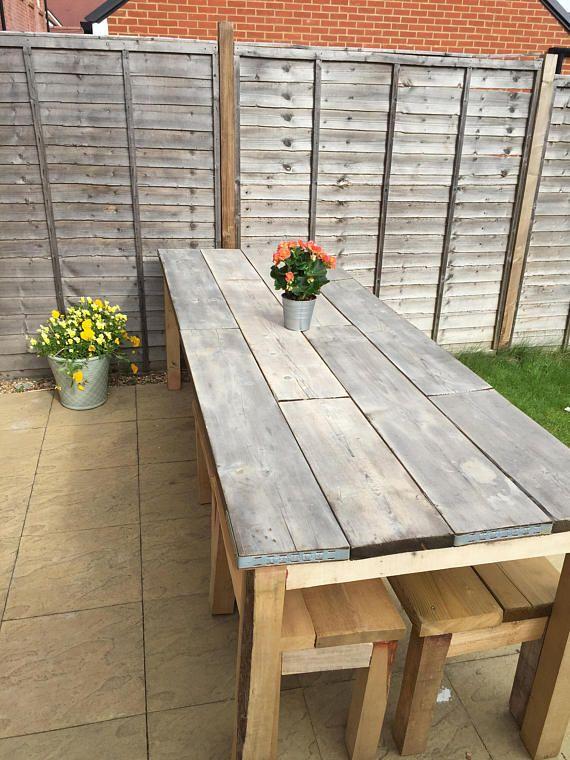 Garden Table And Benches Scaffold Table Garden Table Patio