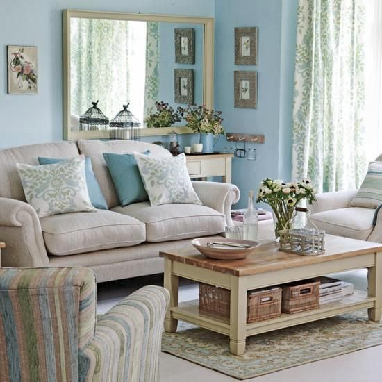 Living Room Duck Egg Blue And Beige For The Home Pinterest Front Rooms Ducks And Eggs