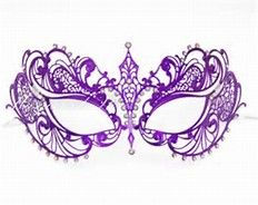 image result for pink and silver masquerade masks clip art