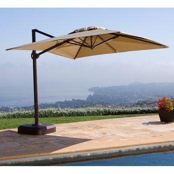 Costco Portofino Resort Full Motion Umbrella Patio Portofino Resort Patio Umbrella