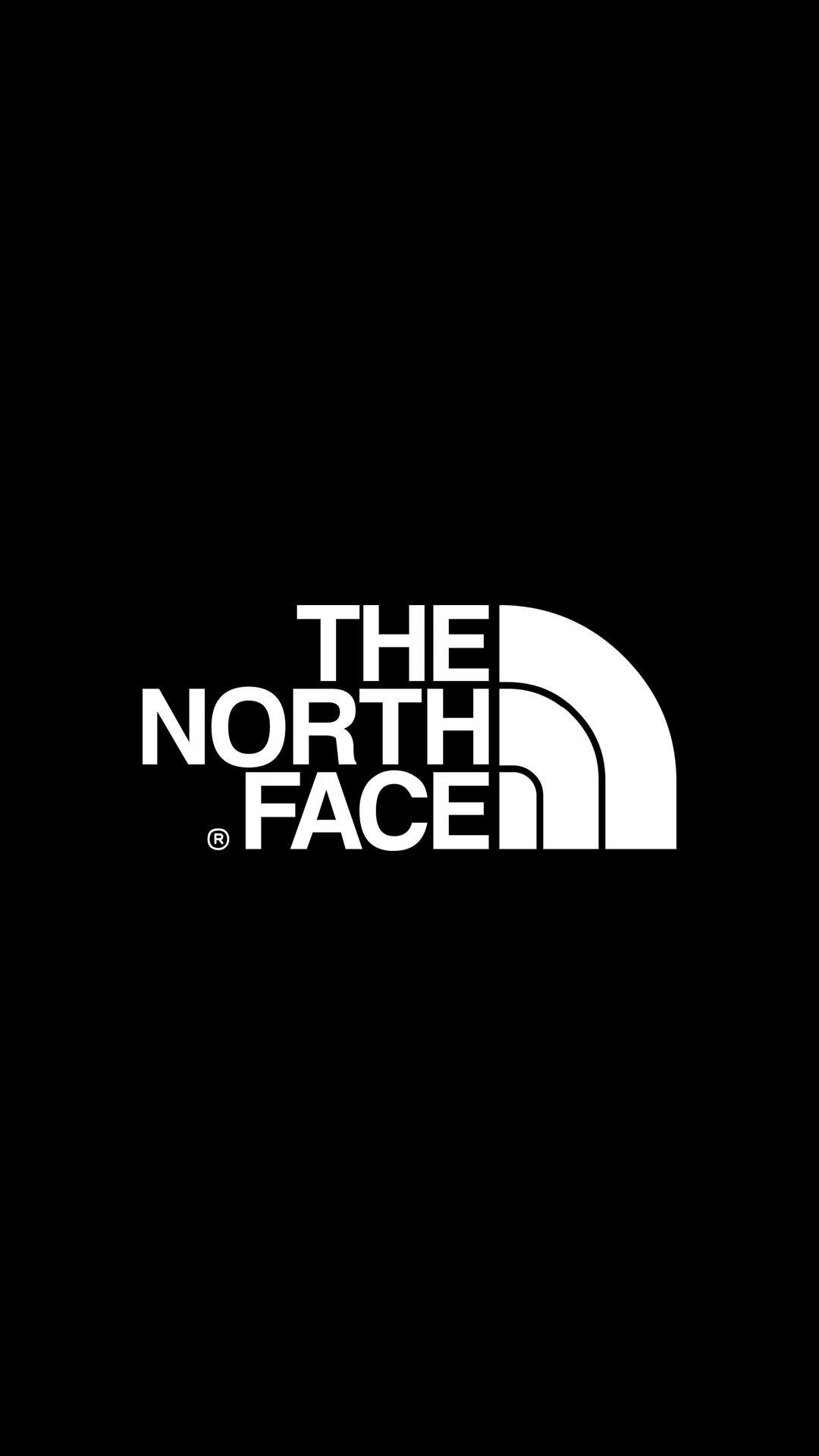 ザ ノース フェイス The North Face12 スマホ 壁紙 黒 ロゴ 壁紙