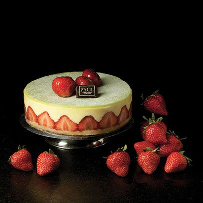 PAUL : French Family Bakery and Patisserie since 1889  Fraisier
