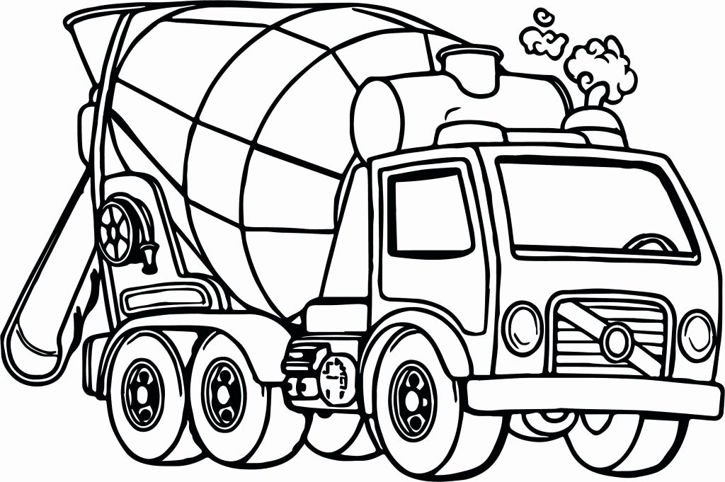 Monster Trucks Coloring Sheets Luxury Coloring Page