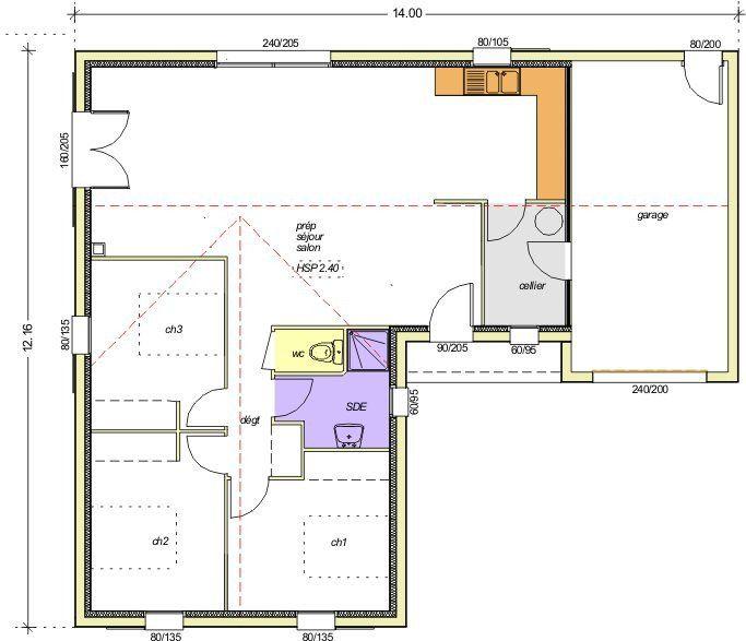 Afficher l\u0027image d\u0027origine maison Pinterest - plans de maison gratuit plain pied