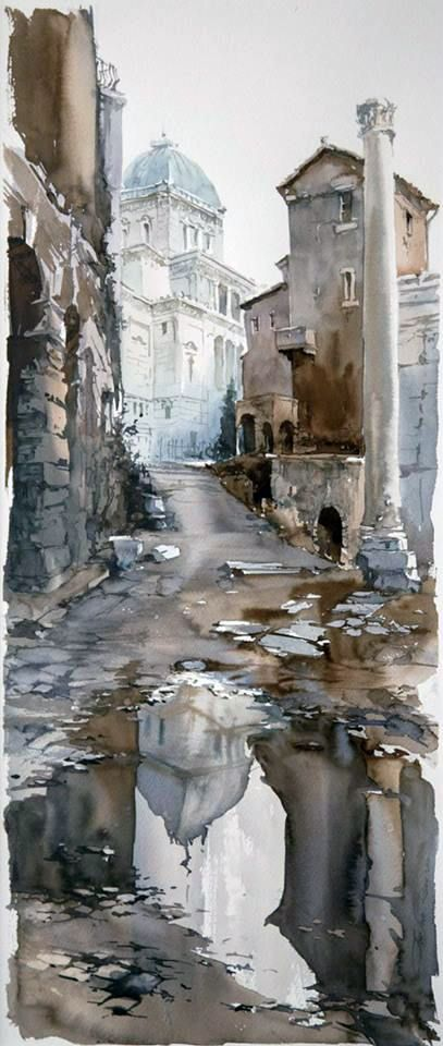 Igor Sava Untitled 10 On Artstack Igor Sava Art Watercolor