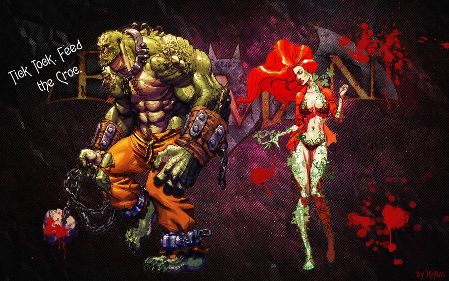 Phrase Excuse Killer croc and poison ivy