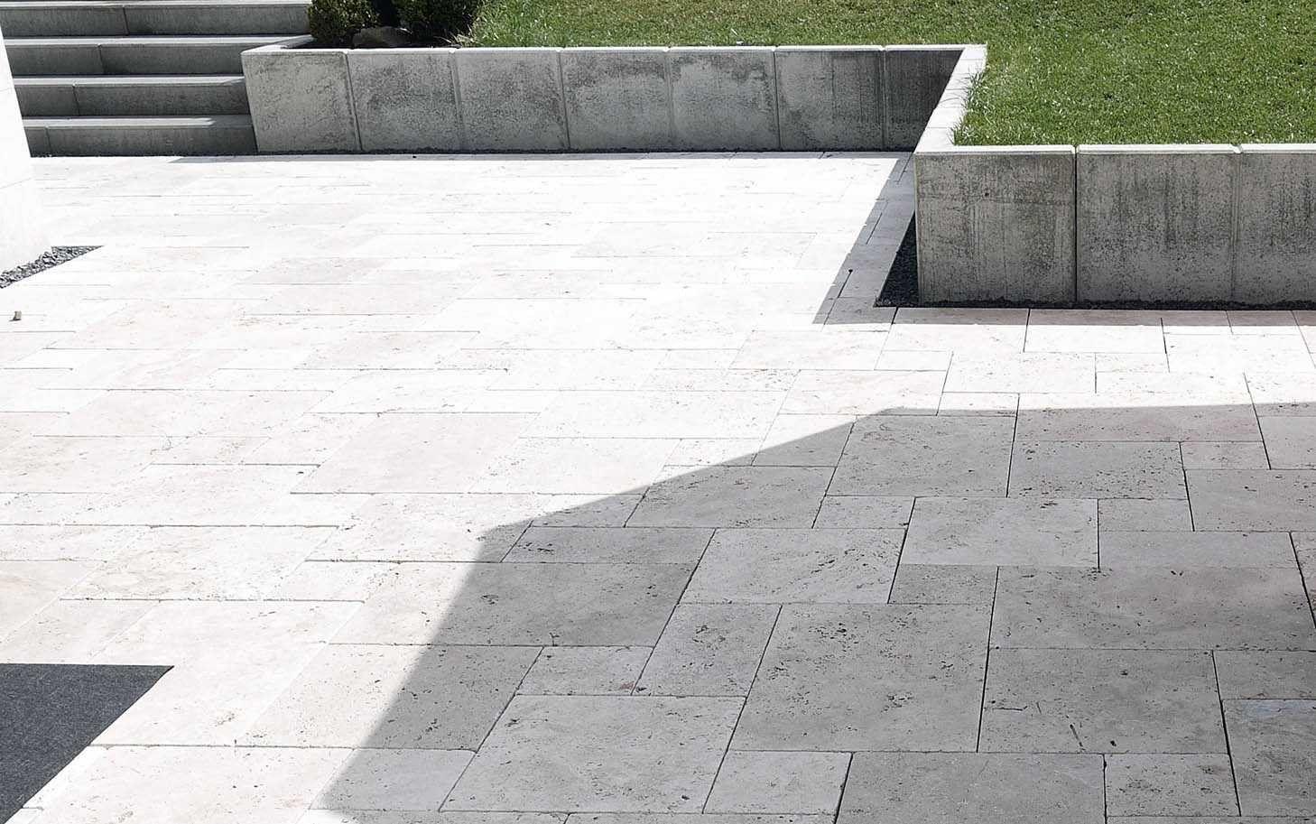 Oberteil 41 Für Terrassenplatten Naturstein Restposten