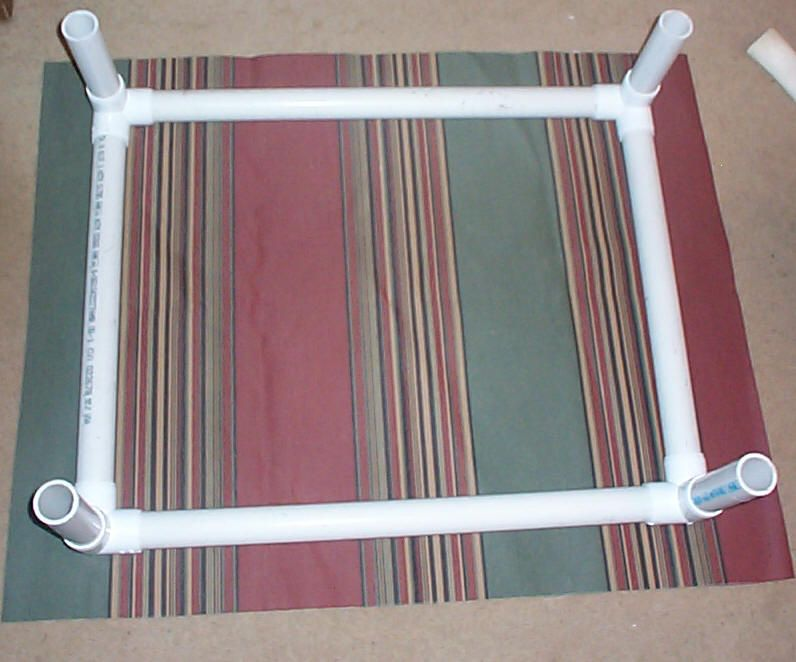 How to build a raised dog bed. Easy and cheap.. Throw a ...