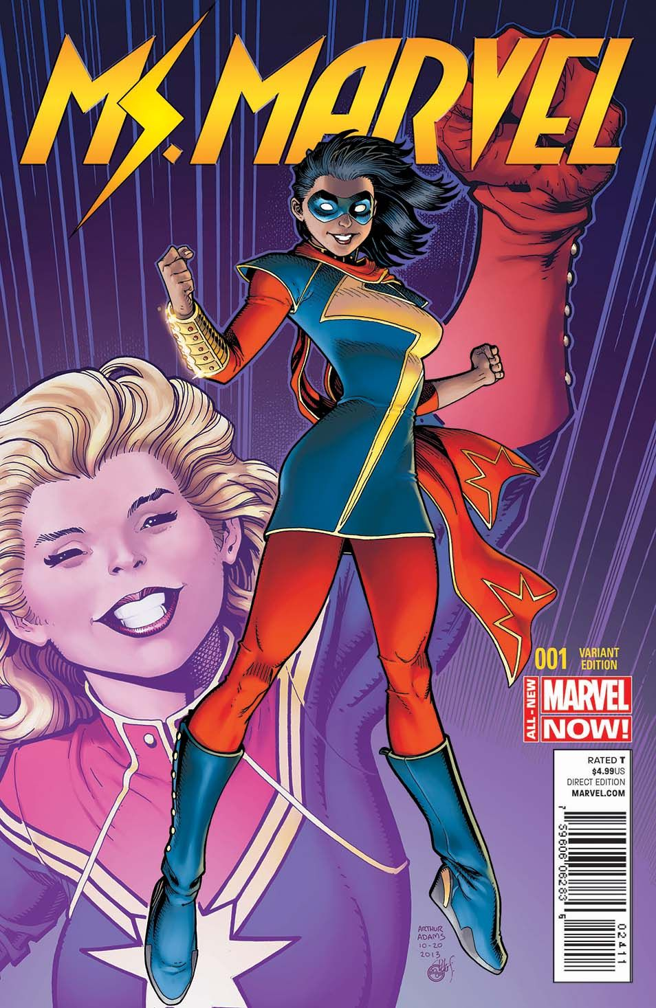 preview marvel's upcoming new ms. marvel #1 | the mary sue i