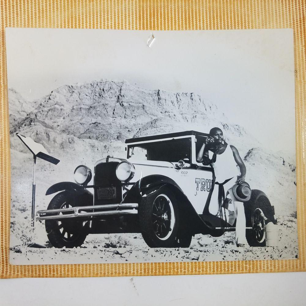 Truly Nolen Antique Auto Photo Black White Original 1950's