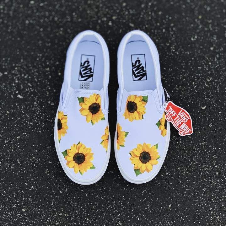 Sunflower White Slip On 2