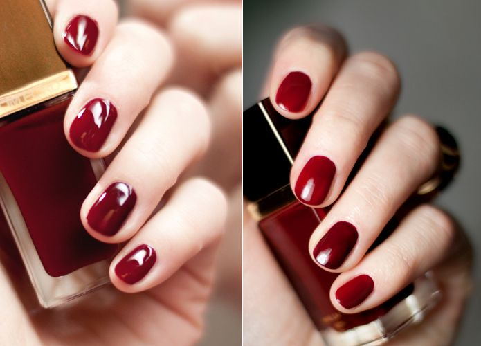 TOM FORD Nail Polish #10 Smoke Red #16 Bordeaux Lust   Travel Style ...