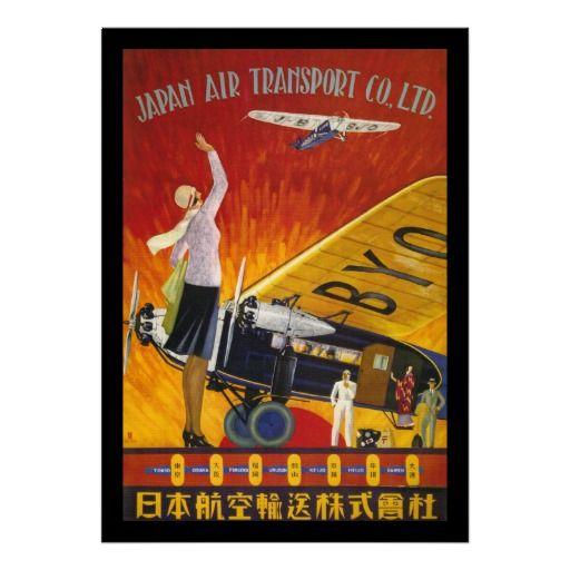 Japan Air Transport Print